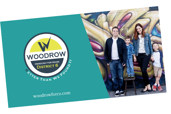Woodrow for House District 6